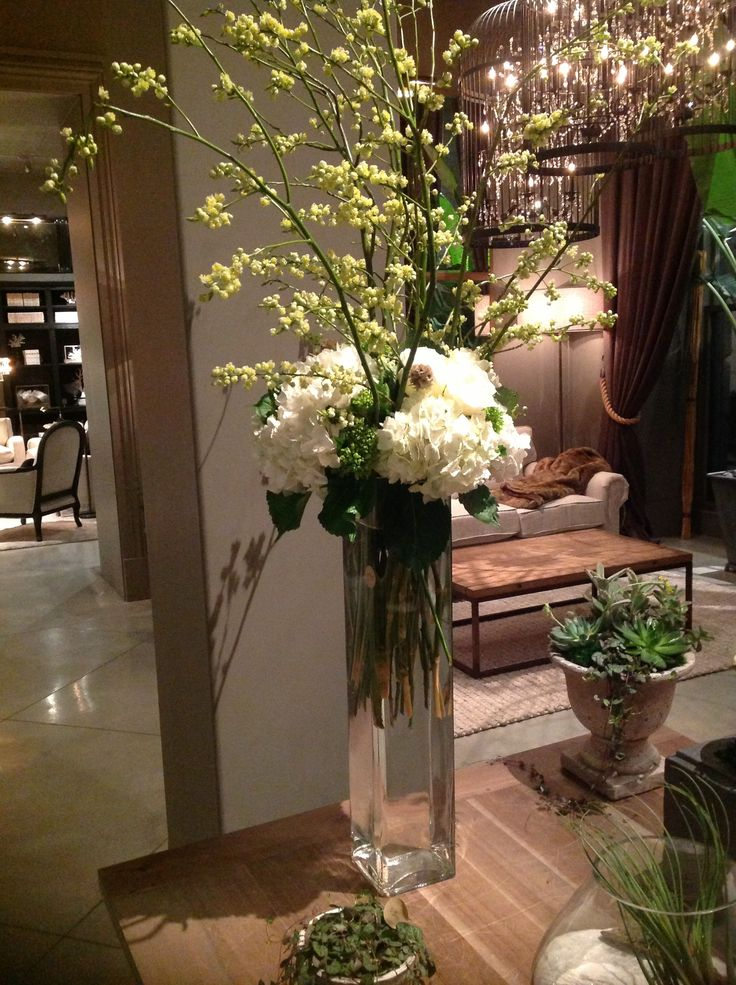A center piece on display at the new Restoration Hardware, Boston!