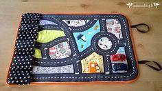 Tuto couture gratuit pour un tapis de voitures nomade by ZunZún