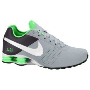 mens nike shox deliver green pink