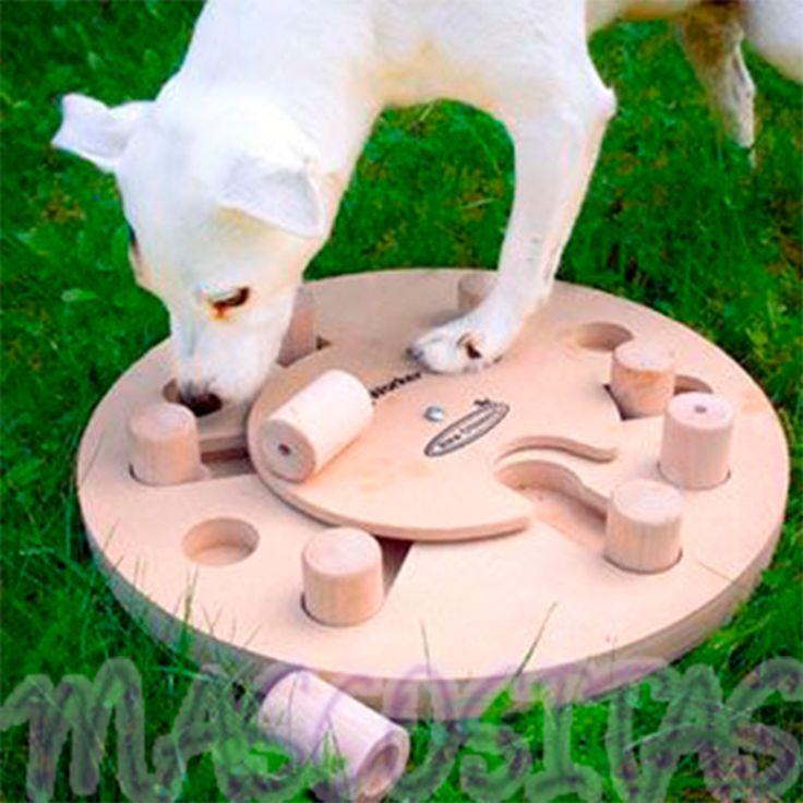 DogWorker tiene el propósito de ocupar a tu perro mentalmente para equilibrar la necesidad de estímulo mental.