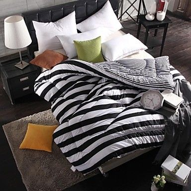 [XmasSale]Shuian® Comforter Winter Quilt Keep Warm Thickening  Quilts with Black and white - USD $ 39.99