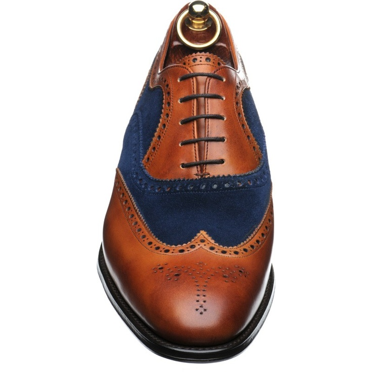 Herring Fencote a great example of two tone brogue shoes.