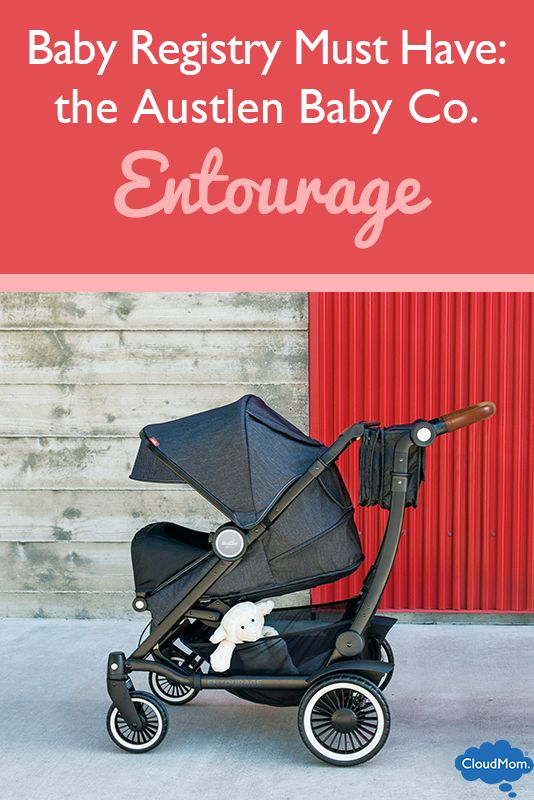 Make life as a parent easier by investing in one of the hottest baby stroller brands on the market, the Austlen Baby Co. Entourage.