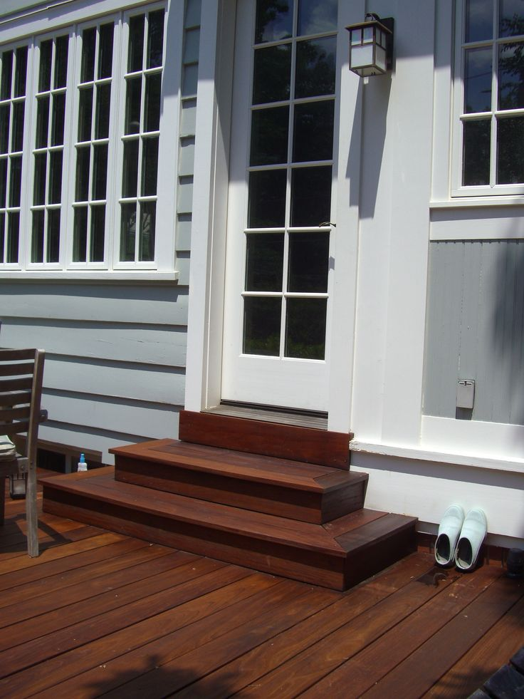 Wrap Around Ipe Deck Steps Decks Pinterest Decks
