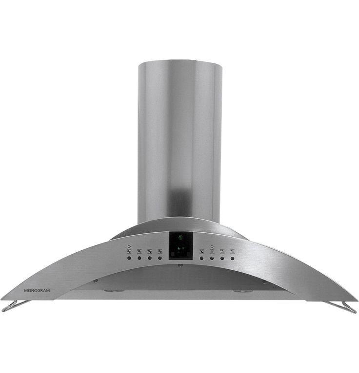 Zv850spss Monogram 36 Island Vent Hood Kitchen Exhaust Monogram Appliances Range Hood