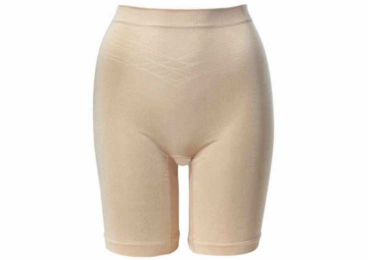saddle-bag buster! style 3239: triumph long leg shaper in wheat (also avail in black)
