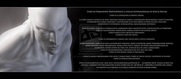 Tutti i corsi della scuola d'arte sila by JordanNennaArt.deviantart.com on @deviantART