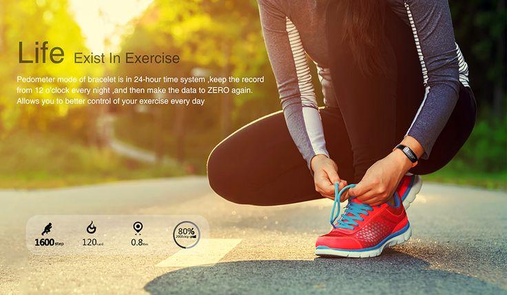 LYNWO M6 Blood Pressure Dynamic Heart Rate Sport Smart Dual Bracelet Wristband for Samsung Xiaomi