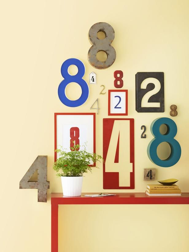 Pick a meaningful date or number and create an interesting grouping of those numbers.