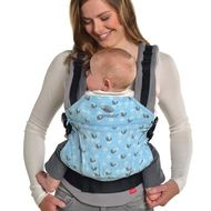 Manduca Limited Edition Baby Carrier Birdie Sparkling Blue