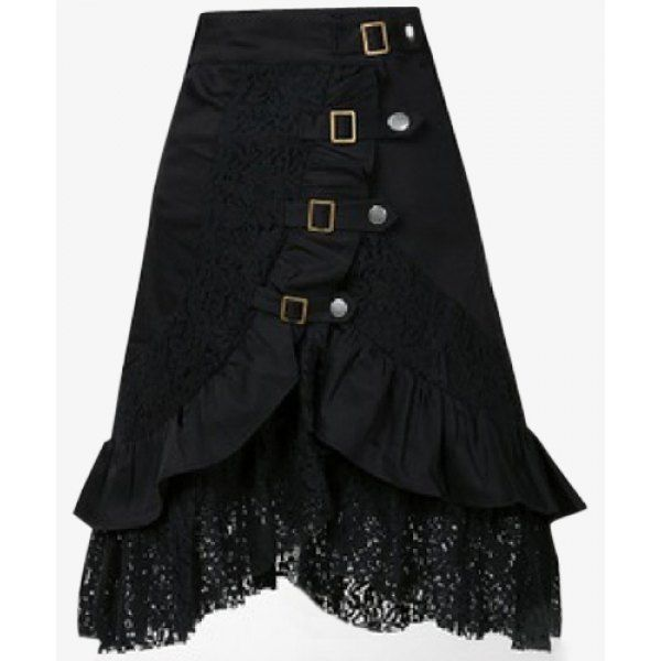 Cupro Skirt - ABSKASH-THE WEAPON by VIDA VIDA Sale Cheap Prices Free Shipping Get To Buy JF9nM8