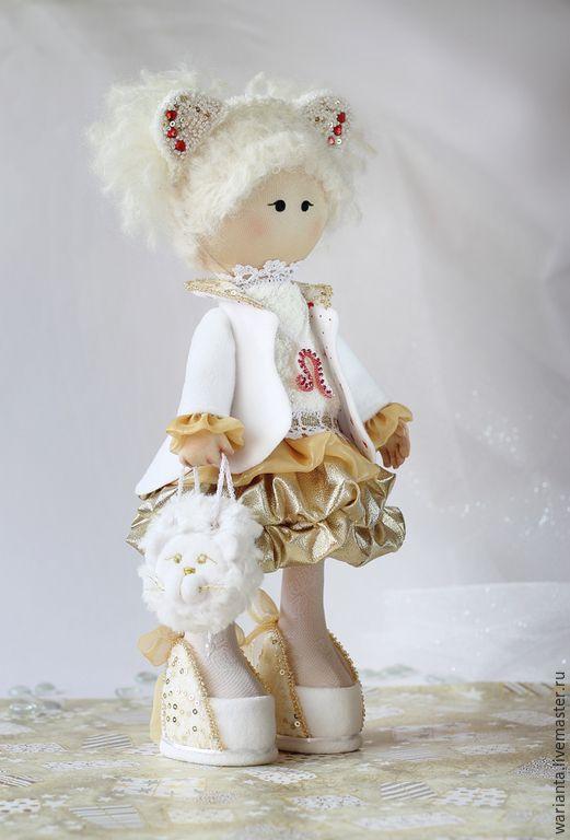 Кукла текстильная. Большеногая девочка. Лео - куклы, куклы купить, dolls, игрушки
