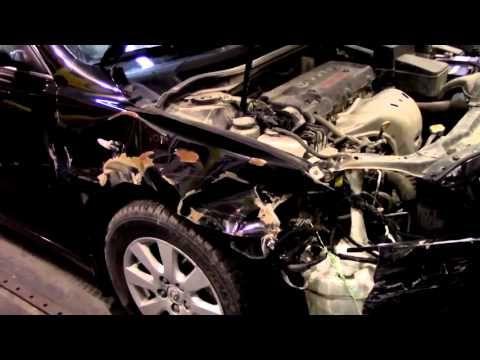 Кузовной ремонт. Тойота Камри, разберемся что к чему. Body repair.