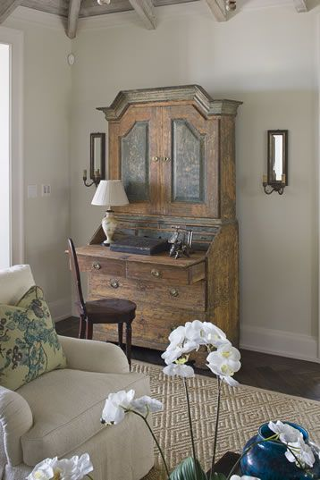 desk for small bedroom roses and rust michael howard interiors 15152