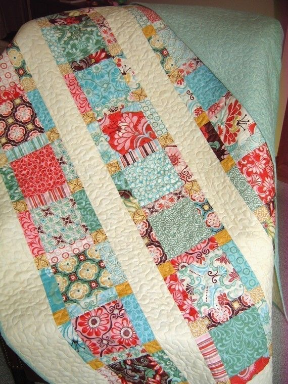 Quilt Patter using only 1 layer cake