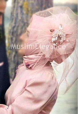 #Turkish hijab style with fasinator #Ready to wear hijab #Hijab Fashion #Bridal Fashion