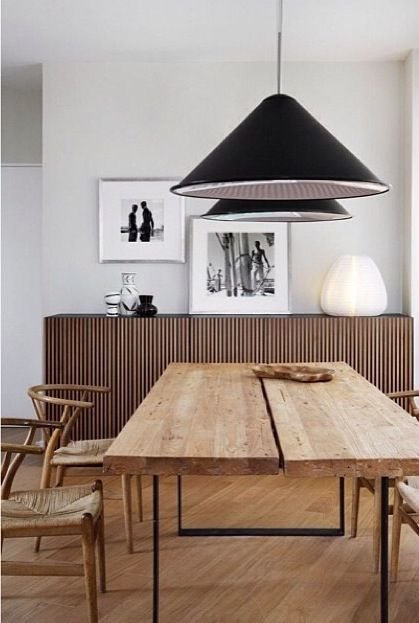 Dinnertable Scandinavian design