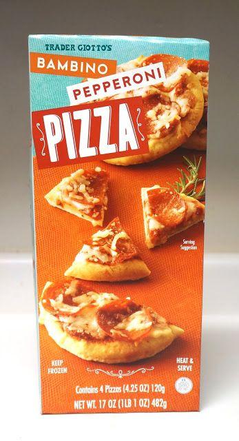 Exploring Trader Joe's: Trader Joe's Bambino Pepperoni Pizza