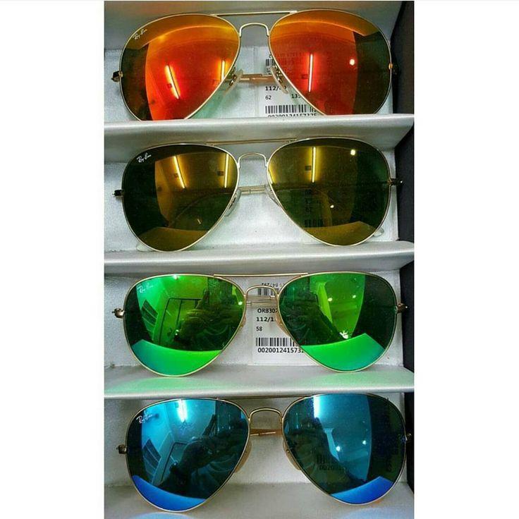 Ray Ban White Sunglasses
