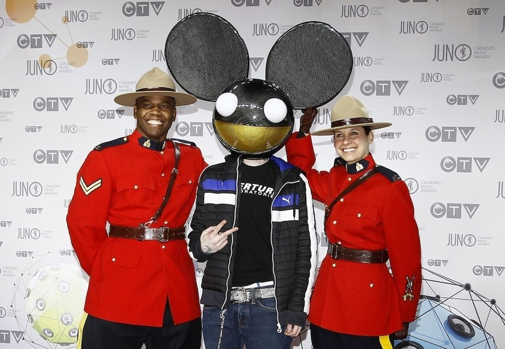 Deadmau5 At The Juno Awards