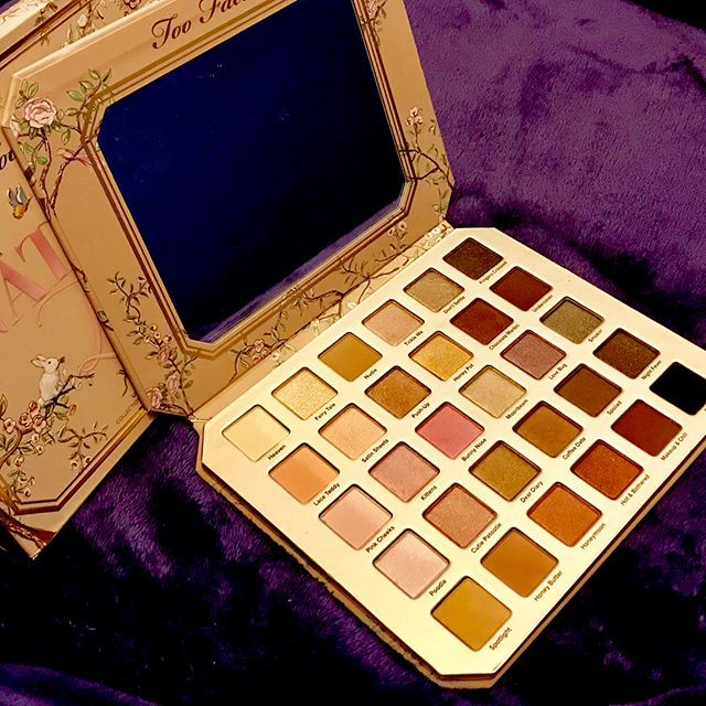 Too Faced Natural Love Palette With Images Eyeshadow