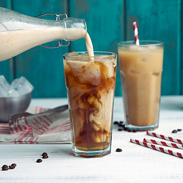 Move past vodka red bulls and onto coffee cocktails. This iced coffee is slightly sweet and laced with dark rum — a complex drink perfect for cool days and warm nights!