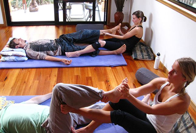 Thai Yoga Massage Course - Byron Bay, NSW   9 Nov – 27 Nov, 2015. Learn the refined art of Thai Yoga Massage over 3 weeks with experienced training from Valentina Gombi – in one of the most beautiful, serene locations in Australia – Byron Bay.