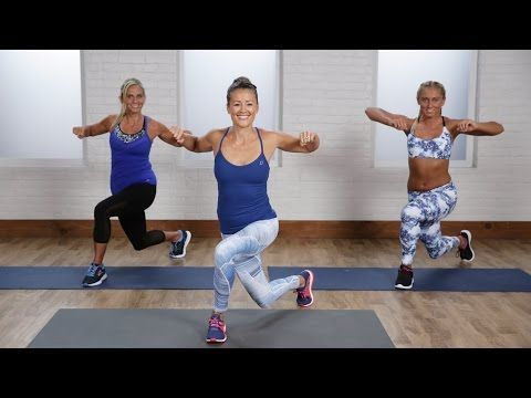 15 Min No Equipment Beginner Cardio Workout for Women