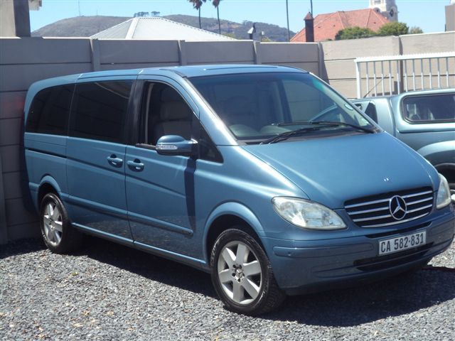 Mercedes-Benz Viano 2.2 D for sale 2007 Year Mileage: 179,000 2.2 Engine Diesel Fuel Automatic gearbox Rear-wheel drive Leather interior Aircon Airbags Power steering Electric windows Immobilizer Central lock Alarm Electric mirrors CD+Mp3 audio system Contact Dealer motor plan Right Hand Drive Minibus Warranty: Contact Dealer Finance:available