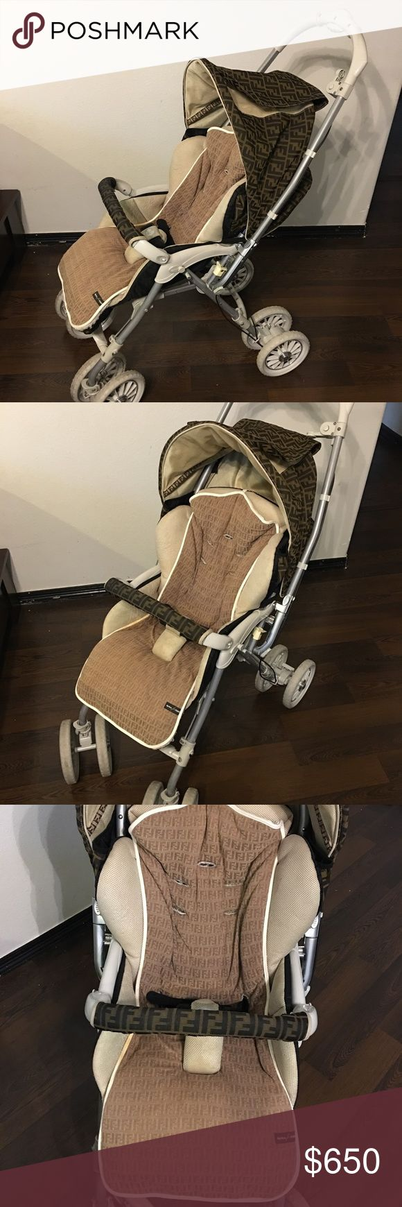 Authentic Fendi stroller by Aprica Rare no longer made