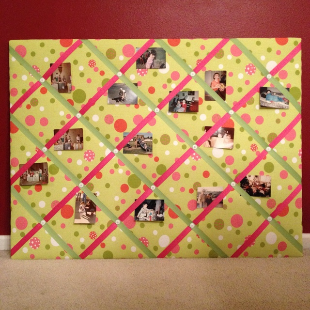 Homemade Picture Board