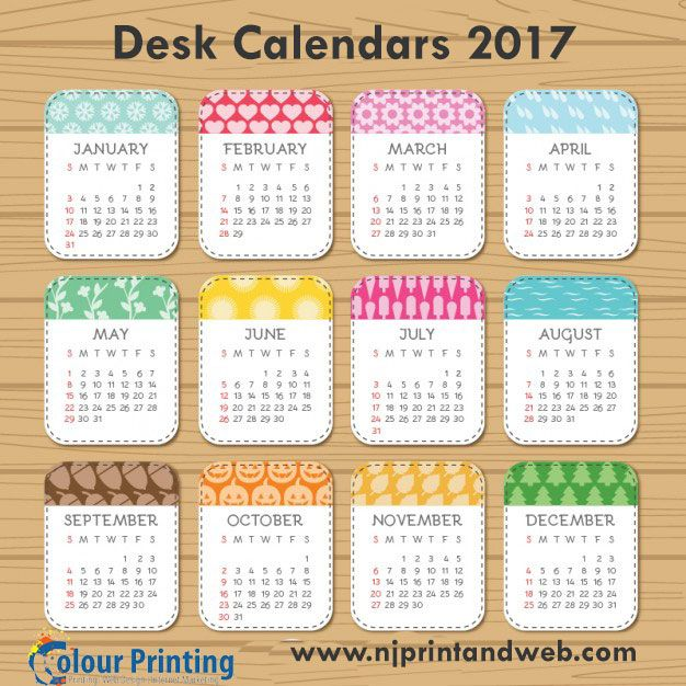Custom printed photo Desk Calendars to enjoy your memories at always. http://www.njprintandweb.com/product/desk-calendars/