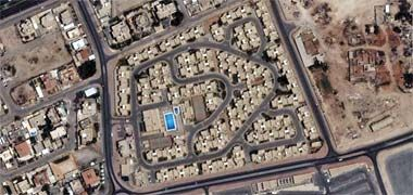 A residential layout – image acqired from Google maps