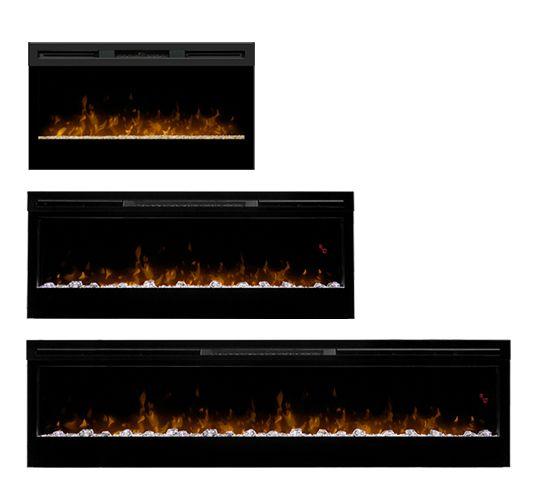 Dimplex - Foyers électriques » Âtres et foyers encastrables
