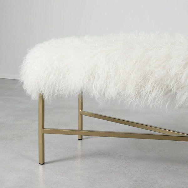 Wilshire Mongolian Bench Modern Bench Design Bench