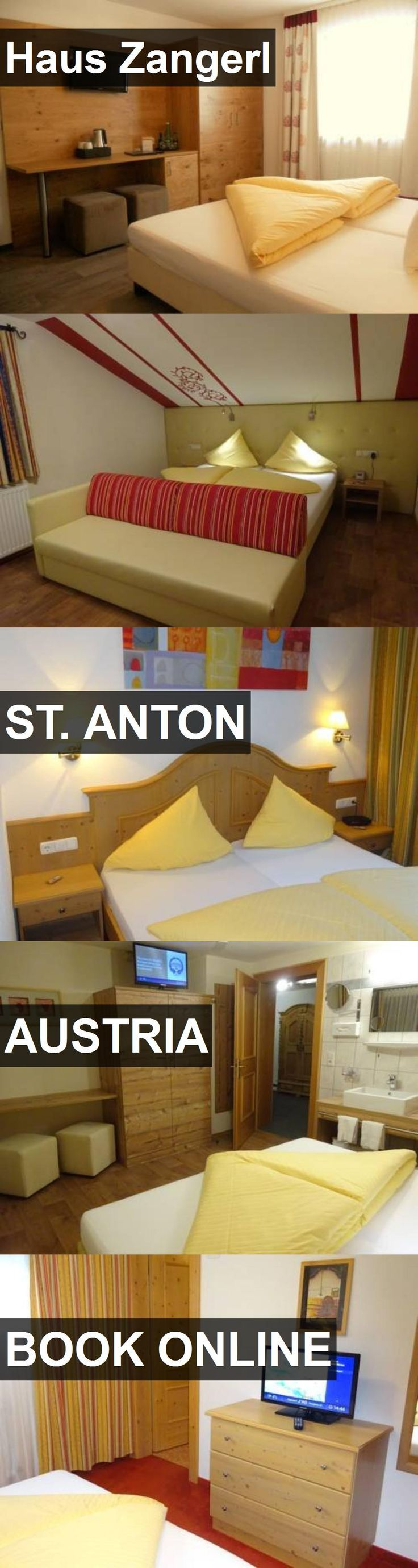 Hotel Haus Zangerl in St. Anton, Austria. For more information, photos, reviews and best prices please follow the link. #Austria #St.Anton #travel #vacation #hotel