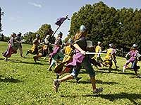 VOLTERRA FESTIVAL - re-enactment of medieval life