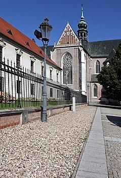 Monastary on Mendel Plaza, Brno.