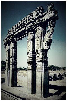 Kirti torana of Kakatiya Dynasty!