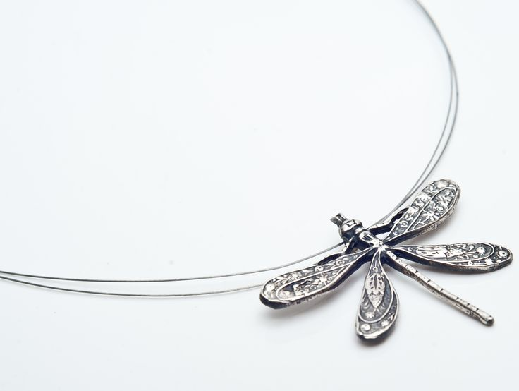 silver(925) Dragonfly