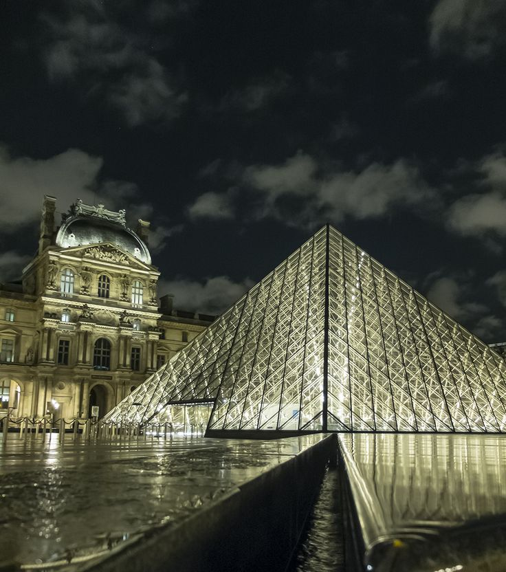 The Louvre Paris Photographed on Fuji X 20 © David Cantwell