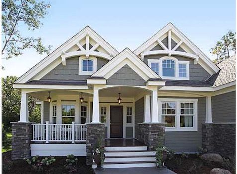 in search of character craftsman style craftsman home planscraftsman home exteriorexterior house colorsgrey - Exterior House Colors Grey