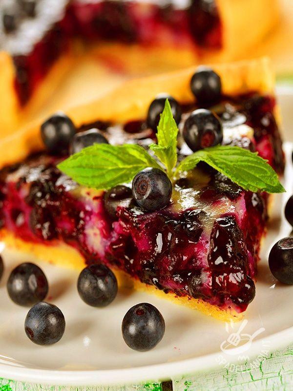Blueberry pie - La Torta ai mirtilli è una torta finlandese il cui nome è Mustikkapiirakka. Questo dessert dal nome difficile è squisito e soddisfa i palati più esigenti.