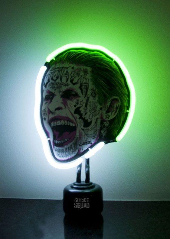 Suicide Squad Neon-Leuchte Joker 33 x 20 cm