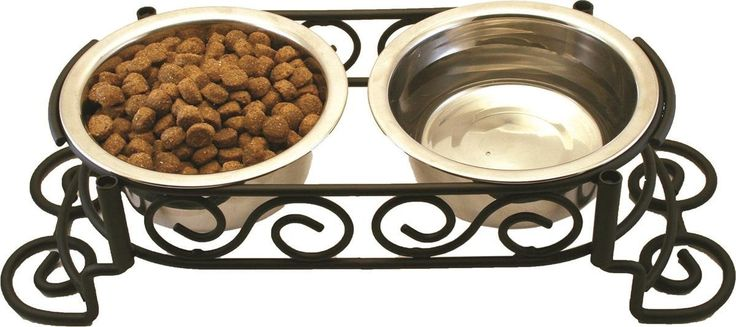 SPOT Mediteranean Double Diner Dog Feeder -- Startling review available here  : Feeding and Watering Supplies