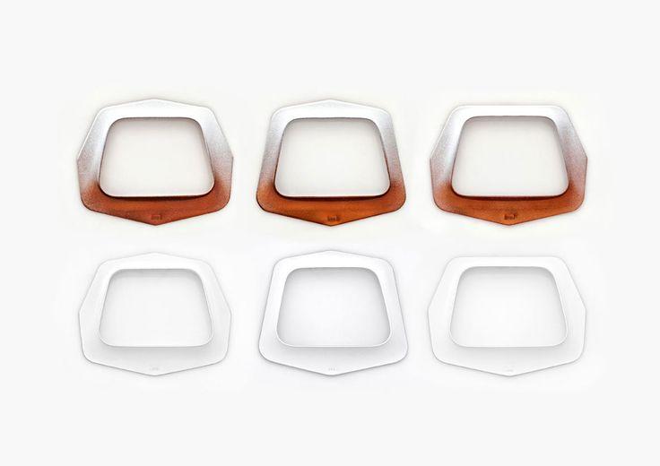 Bracelets by Janka Juhos, Hungarian jewelry designer | Corner Design Store