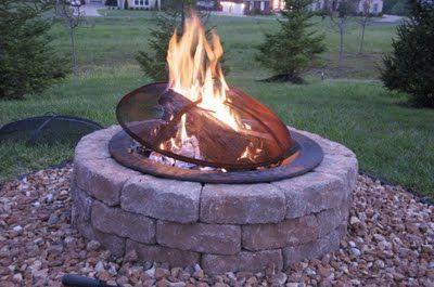 contractor free firepitBackyards Fire Pit, Fire Pit From Low, Backyards Parties, Outdoor Fire Pits, Dreams Backyards, House Stuff, Backyards Living, Outdoor Spaces, Outdoor Firepit