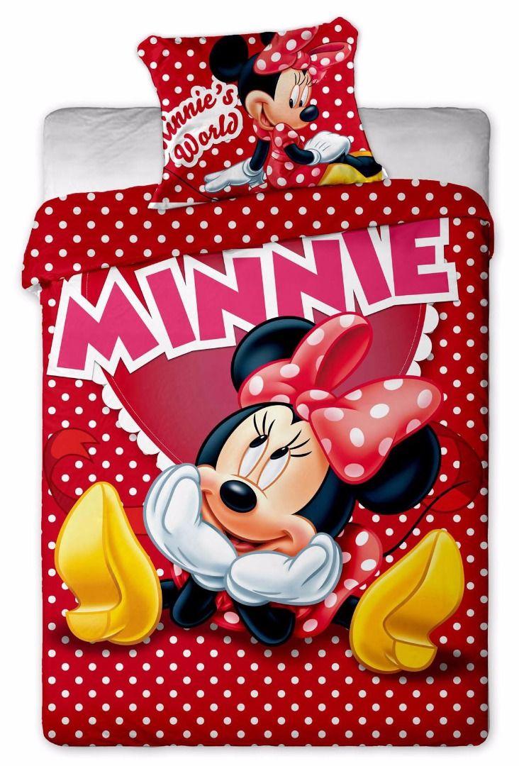 Jerry Fabrics Disney povlečení 140×200 70×90 Minnie Hearts Pohodlné Jerry Fabrics Disney povlečení 140×200 70×90 Minnie Hearts levně.Dvoudílná sada povlečení. Pro více informací a detailní popis tohoto povlečení přejděte na stránky obchodu. 695 Kč NÁŠ …