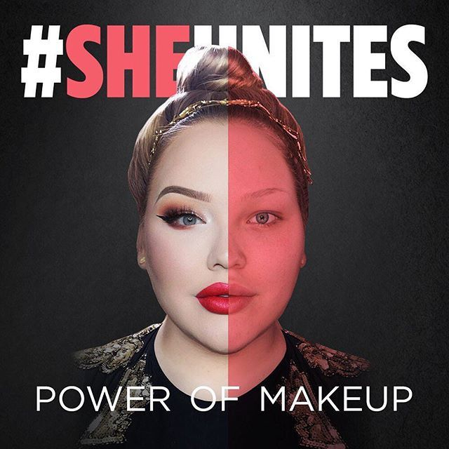 Makeup is a means of expression and no one should shame you for experimenting with it  @nikkietutorials has teamed up with MakeupPlus and the Peacemakers Network to form the #SHEUnites campaign to end makeup shaming and empower women worldwide. Here's how you can get involved: 1. Download the free @makeupplusapp 2. Apply your favourite #SHEUnites virtual makeup look 3. Share your photo and #SHEUnites on Instagram Visit the blog for more details!  #makeupplus #nikkietutorials #meitu…