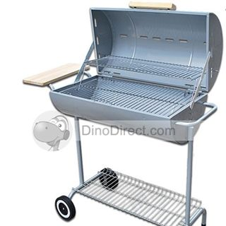 Outsorop Vertical Barrel Portable Outdoor Camping BBQ Barbeque Grill Set - DinoDirect.com